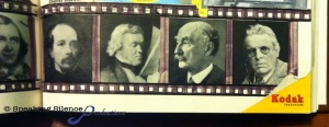 pictures made in to film strip